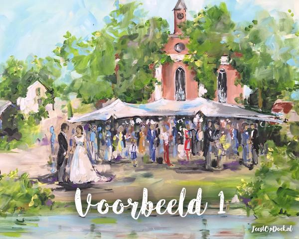Bruiloft Schilder